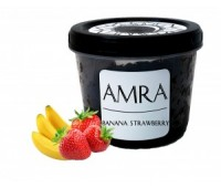 Табак Amra Moon Banana Strawberry (Амра Банан Клубника) 100 грамм