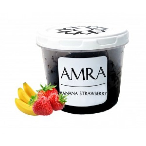 Купить Табак Amra Sun Banana Strawberry (Амра Клубника Банан) 100 грамм