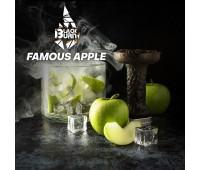 Табак Black Burn Famous Apple (Зеленое Яблоко со Льдом) 100 грамм