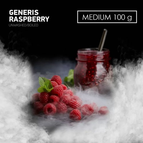 Табак для кальяна DarkSide Generis Raspberry (Дженерис Малина) 100 грамм