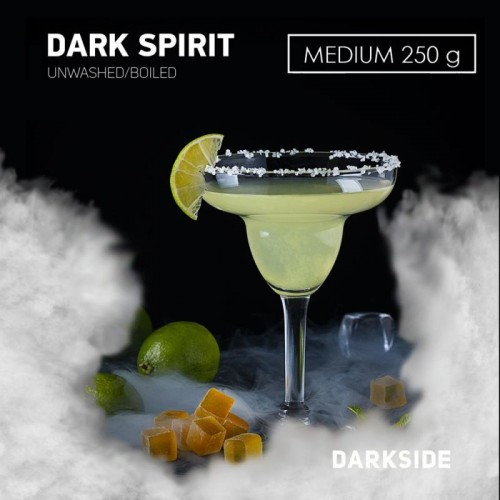 Табак для кальяна DarkSide Dark Spirit Medium (ДаркСайд Дарк Спирит) 250 грамм