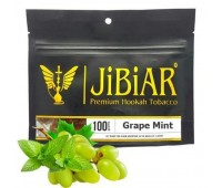 Табак Jibiar Grape Mint (Виноград Мята) 100 гр