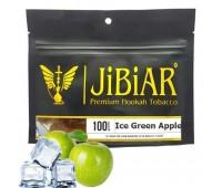 Табак Jibiar Ice Green Apple (Зеленое Яблоко Лед) 100 гр