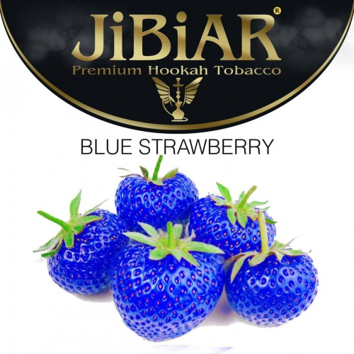 Табак Jibiar Blue Strawberry (Клубника Блю) 100 гр