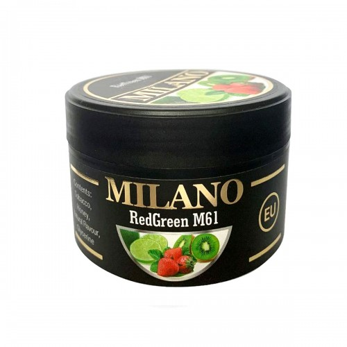 Табак Milano Red Green М61 (Лайм Клубника Киви) 100 гр
