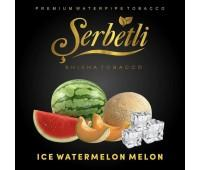 Табак Serbetli Ice Watermelon Melon (Арбуз Дыня Лёд) 50 грамм