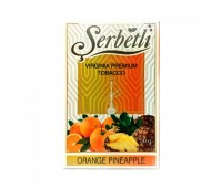 Табак для кальяна Serbetli Orange Pineapple 50 грамм