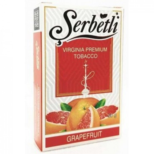 Табак для кальяна Serbetli Grapefruit (Грейпфрут) 50 грамм