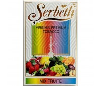 Табак для кальяна Serbetli Mix Fruit 50 грамм