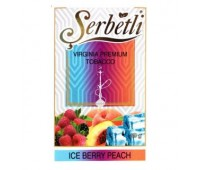 Табак для кальяна Serbetli Ice Berry Peach 50 грамм