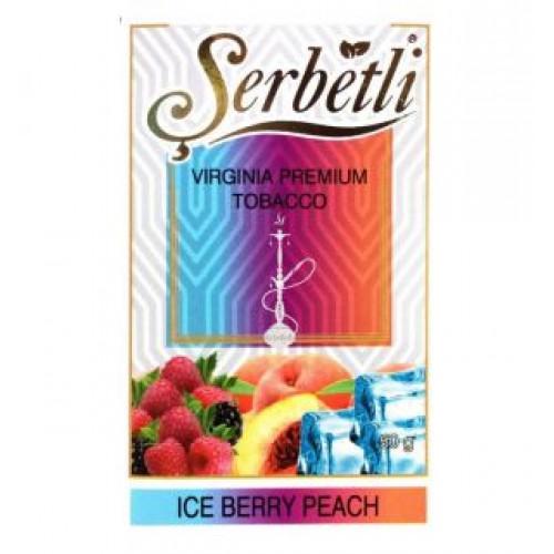 Табак для кальяна Serbetli Ice Berry Peach 50 грамм