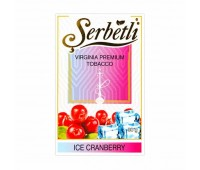 Табак для кальяна Serbetli Ice Cranberry 50 грамм