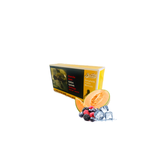 Табак Serbetli Ice Melon Mix Berry (Лед Дыня Ягоды) 500 грамм