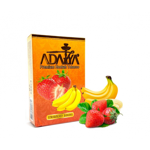 Табак Adalya Strawberry Banana (Клубника Банан) 50 гр