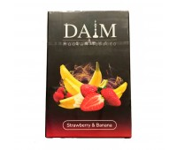 Табак Daim Strawberry Banana (Клубника Банан) 50 гр.