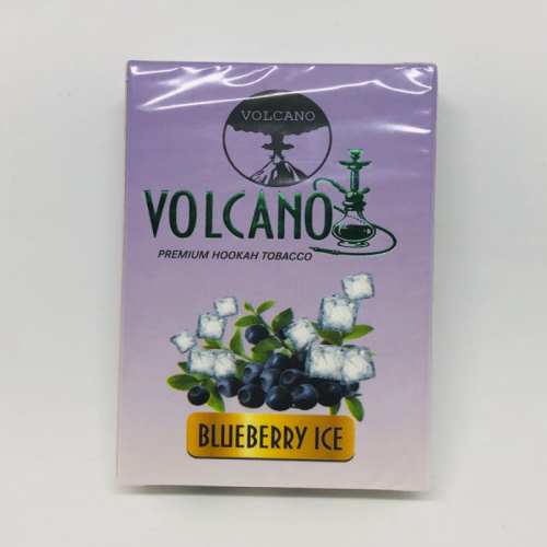 Табак для кальяна Volcano Blueberry Ice (Вулкан Черника Лёд) 50 грамм