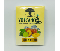 Табак для кальяна Volcano Cold Peach Mix 50 грамм